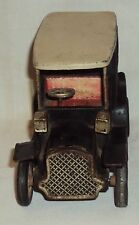 VINTAGE FRICTION POWERED TOY CAR MODEL TIN PLATE JAPAN C1960'S RARE COLLECTIBLE
