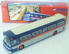 Corgi Lionel City Transport Fishbowl Bus GM5301 NEW in Box 1/50 scale 54302