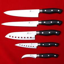 5 Knife Set COUTEAUX DE CUISINE SASHIMI Fish Sushi Kitchen Cutley Chef Sommelier