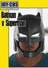 batman helmet Cosplay mask  Batman v Superman FRP  helmet LED version