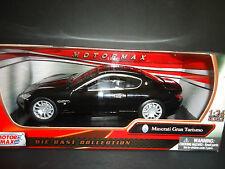 Motormax Maserati Gran Turismo Black 1/24