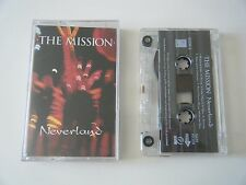 THE MISSION NEVERLAND CASSETTE TAPE EQUATOR UK 1995