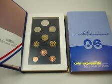 *** EURO KMS FRANKREICH 2006 PP Polierte Platte mit 5 € Pantheon France Coin ***