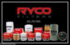 Z418 RYCO OIL FILTER fit Toyota HILUX GGN15 Petrol V6 4 1GR-FE 04/05 ../on