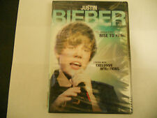 Justin Bieber: The Untold Story Of His Rise to Fame DVD NEW