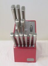 Wiltshire Stay Sharp 12 Piece Knife Block Set with Built-in Sharpening System