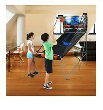 Fold Up 2 Player Indoor Basketball Arcade Game Double Electronic Hoops Shot