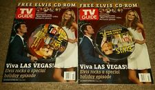 Elvis Presley 2006 TV Guide Magazine Holiday Edition with CD