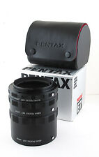 Pentax 67 6x7 Extension Tube Ring Set 1, 2, 3 w/Case Box SCATOLA Near Mint!