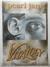 PEARL JAM Vitalogy Rare Vintage 1990's 34 X 24 Inch Large Size Poster