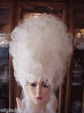 **EMPRESS BIANCA WIGS DRAG QUEEN LONG UPDO WAVY WHITE
