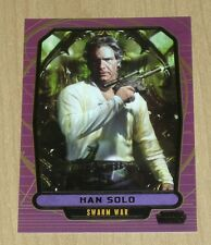 2013 Topps Star Wars Galactic Files Series 2 GOLD parallel HAN SOLO #535 6/10