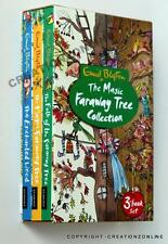 ENID BLYTON THE MAGIC FARAWAY TREE 3 BOOK SET NEW ENCHANTED WOOD MAGIC FOLK OF