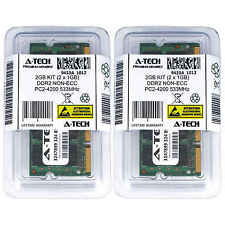 2GB KIT 2 x 1GB SODIMM DDR 2 NON-ECC PC2-4200 533MHz 533 MHz DDR-2 2G Ram Memory