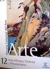 Historia Universal del Arte Africano, Oriental y Precolombino vol. 12 Hardcover