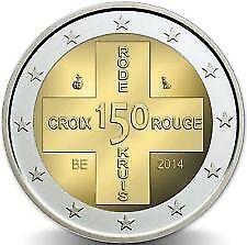 2 EURO *** België 2014 Belgique  ***  Rode Kruis  150 jaar/ans Croix Rouge  !!!