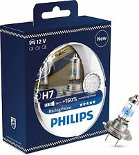 Philips H7 Racing Vision +150% Halogen 12972RVS2 H7 12V 55W PX26d (Pair)