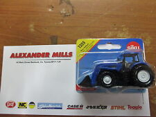 Siku 1355 Model Toy New Holland Tractor & Front Loader Replica Diecast Farm Toy