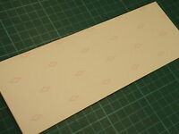 80 x 226mm Copper Clad PCB Paper Based Laminate Single Sided Board 1.6mm Thick
