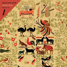 Iron & Wine Archive Series Volume No 1 2x WHITE VINYL LP Record! non album! NEW+