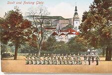 15911 AK Stadt und Festung Glatz Soldaten in Aufstellung 1918 Militär Schlesien