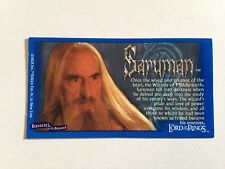 Lord Of The Rings - Bassett / Barratt Trading Cards - Saruman - Cigarette Cards