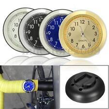 7/8'' 1'' Universal Motorcycle Bike Handlebar Dial Mount Clock Watch Waterproof