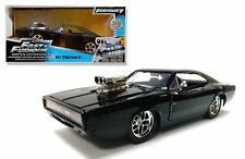 JADA 1:24 W/B FAST AND FURIOUS DOM'S 1970 DODGE CHARGER R/T DIECAST CAR 97059