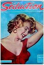 Marilyn Monroe Seduction steel sign  (41)  REDUCED TO CLEAR-------------------