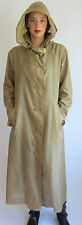 AUTHENTIC VTG ISSEY MIYAKE JAPAN TAUPE HOODED LONG LINED WINDCOAT JACKET~S