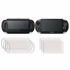 3 FRONT +3 BACK Screen Cover Guard Film Sony PlayStation PS Vita Slim PCH-2000