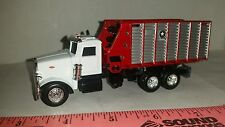 1/64 CUSTOM PETERBILT TRUCK WITH MTD MEYER FORAGE CHOPPER WAGON ERTL FARM TOY
