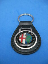 ALFA ROMEO AUTO LEATHER KEYCHAIN KEY CHAIN RING FOB #283