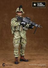 """Crazy Dummy 1/6 Scale 12"""" US Army Saw Gunner in Afghanistan Action Figure 78004"""