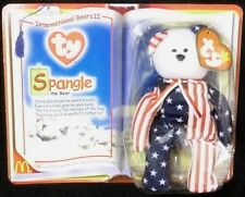 McDonalds TY Spangle the Bear Stars Stripes International Bears Collectibles