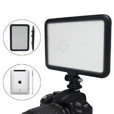 US Mcoplus LED Video Light Ultra Thin Lamp Bi-Color Temperature for Canon Nikon