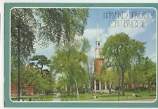 Harvard University Cambridge Mass. USA 1987 Postcard  247a