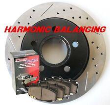 Fits Pontiac G8 GT Drill Slot Rotors Pads Harmonically Balanced Rear Pair