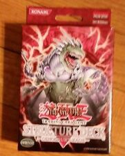 YuGiOh Dinosaurs Rage 1st EDITION New Structure Deck GEM Mint condition Rare
