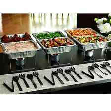 Buffet Serving Set 33 Pc Party Serveware Food Tray Fork Spoon Tong Chafing Kit