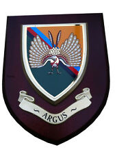 ARGUS 14th Intelligence Regiment Military Wall Plaque