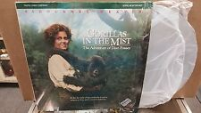 Laser Disc Free S/H Gorillas in the Mist