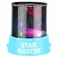 Romantic Blue Star Sky Night Light Lamp Projector Christmas Gift Present*