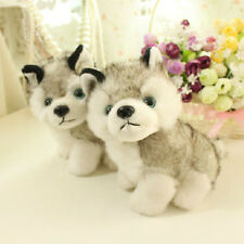Hot 1pc Husky Dog Cute Animals Stuffed Toy Sleeping Plush Doll Gift Kid Hi-Q