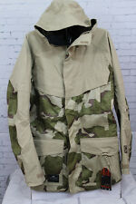 New 2014 Mens Nitro The Kill Snowboard Jacket Large Khaki Desert Camo