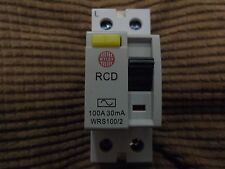 Wylex Double pole RCD  100 Amp 30mA WRS100/2 Free Delivery