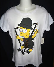 MENS FOREVER TWENTYONE BART SIMPSON T-SHIRT SIZE L