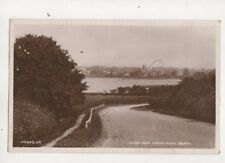 Hornsea From Hull Road Yorkshire 1925 RP Postcard 437b