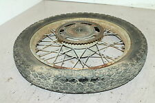66-67 Sears Gilera 106 Ss Rear Back Wheel Rim SPROCKET HUB