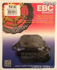 Honda CBR400RR (1987 to 1994) EBC Kevlar REAR Brake Pads (FA140) (1 Set)